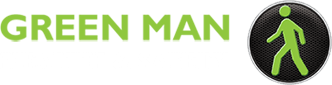 Green Man Health & Safety logo